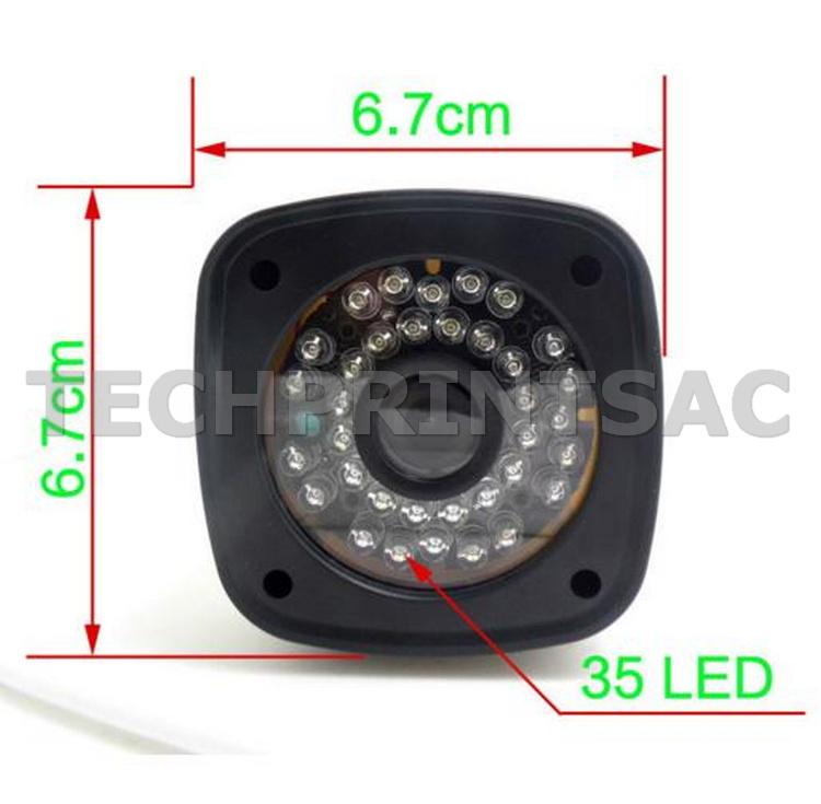 Camara ip exteriores inalambrica vision nocturna graba for Camara ip inalambrica exterior